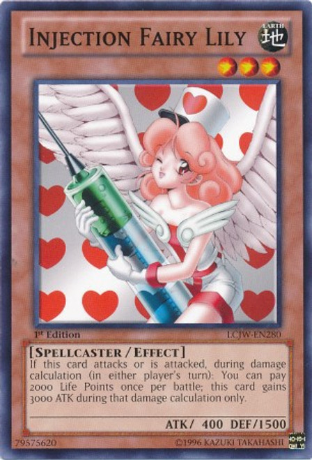 YuGiOh Legendary Collection 4: Joey's World Common Injection Fairy Lily LCJW-EN280