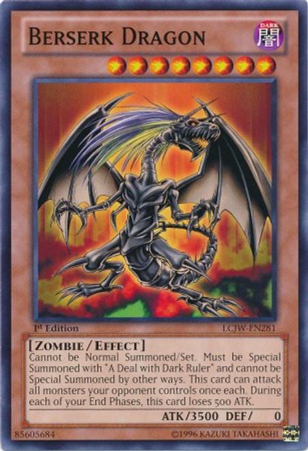 YuGiOh Legendary Collection 4: Joey's World Common Berserk Dragon LCJW-EN281