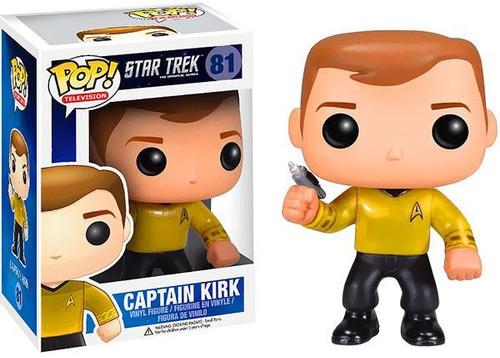 Funko Star Trek The Original Series POP! TV Captain Kirk Vinyl Figure #81