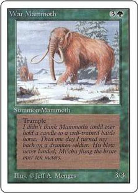 MtG Unlimited Common War Mammoth