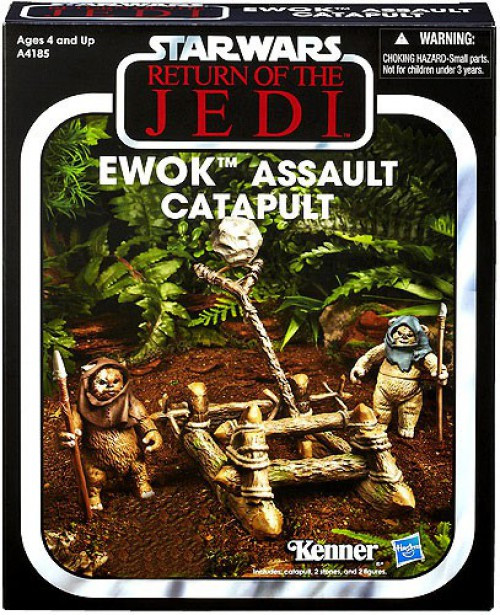 Star Wars Return of the Jedi Vintage Collection Vehicles Ewok Assault Catapult Exclusive Action Figure Vehicle