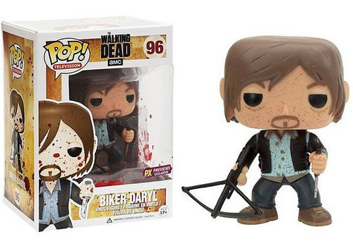 Funko The Walking Dead POP! TV Biker Daryl Dixon Exclusive Vinyl Figure #96 [Bloody Version]