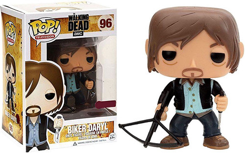 Funko The Walking Dead POP! TV Biker Daryl Dixon Exclusive Vinyl Figure #96 [Clean Version]
