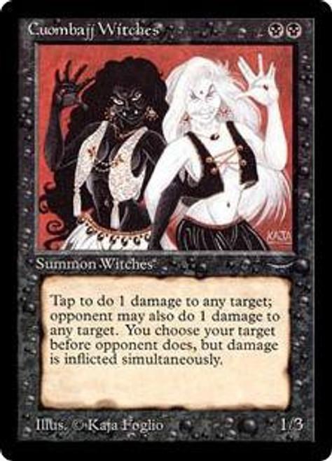 MtG Arabian Nights Common Cuombajj Witches