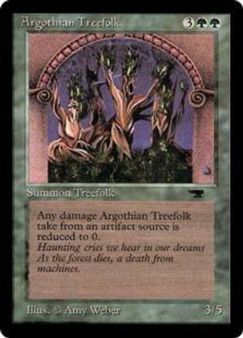 MtG Antiquities Common Argothian Treefolk
