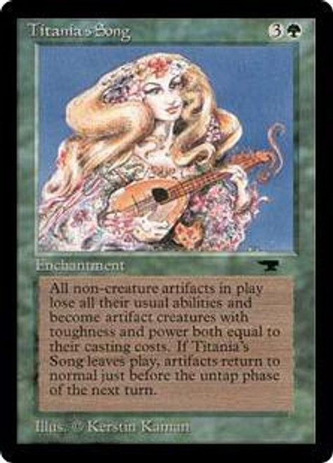 MtG Antiquities Uncommon Titania's Song