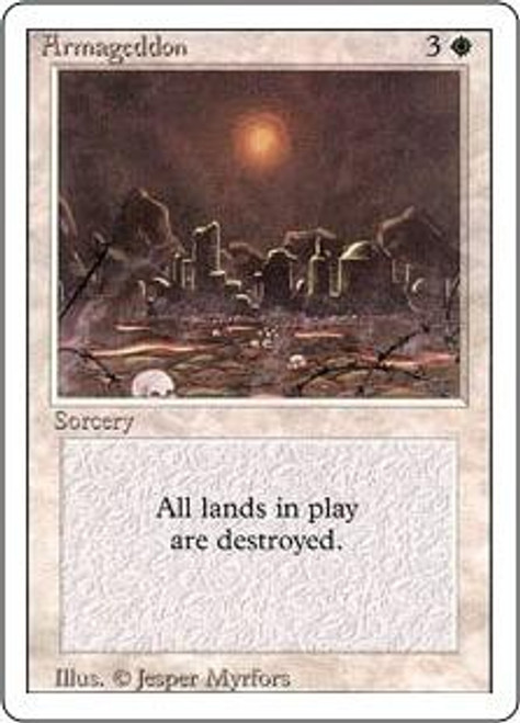 MtG Revised Rare Armageddon [Near Mint / Mint]