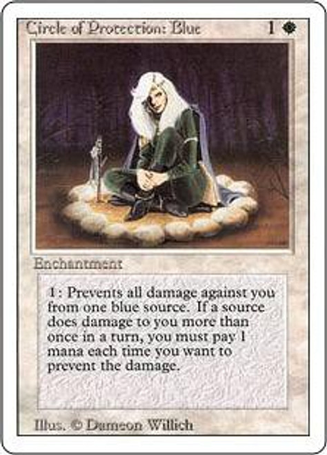 MtG Revised Common Circle of Protection: Blue