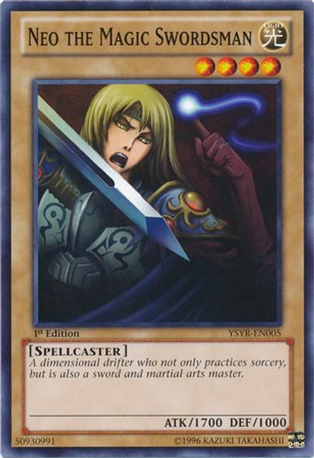 YuGiOh Trading Card Game Starter Deck: Yugi Reloaded Common Neo the Magic Swordsman YSYR-EN005