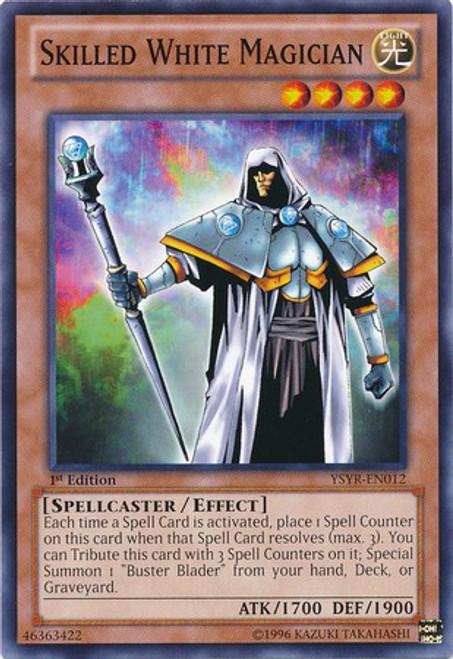 YuGiOh Trading Card Game Starter Deck: Yugi Reloaded Common Skilled White Magician YSYR-EN012