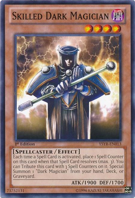 YuGiOh Trading Card Game Starter Deck: Yugi Reloaded Common Skilled Dark Magician YSYR-EN013
