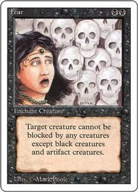 MtG Revised Common Fear
