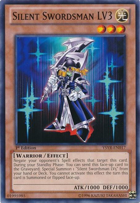YuGiOh Trading Card Game Starter Deck: Yugi Reloaded Common Silent Swordsman LV3 YSYR-EN017