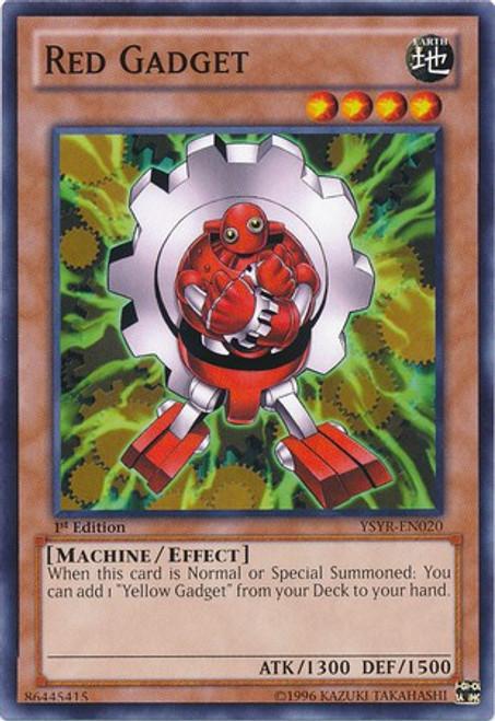 YuGiOh Trading Card Game Starter Deck: Yugi Reloaded Common Red Gadget YSYR-EN020