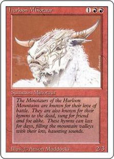 MtG Revised Common Hurloon Minotaur