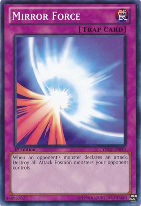 YuGiOh Trading Card Game Starter Deck: Yugi Reloaded Common Mirror Force YSYR-EN040