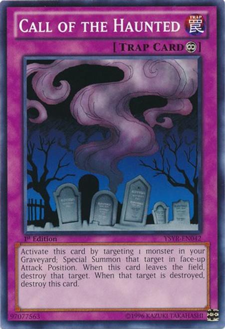 YuGiOh Trading Card Game Starter Deck: Yugi Reloaded Common Call of the Haunted YSYR-EN042