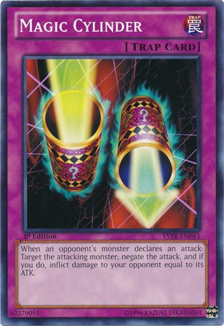 YuGiOh Trading Card Game Starter Deck: Yugi Reloaded Common Magic Cylinder YSYR-EN043