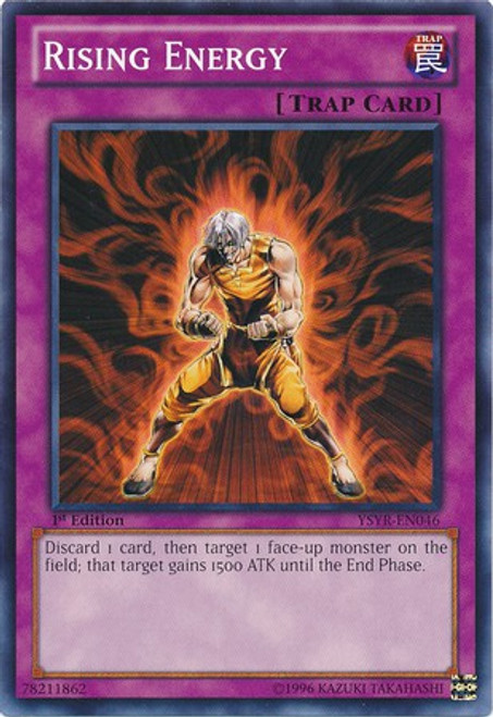 YuGiOh Trading Card Game Starter Deck: Yugi Reloaded Common Rising Energy YSYR-EN046