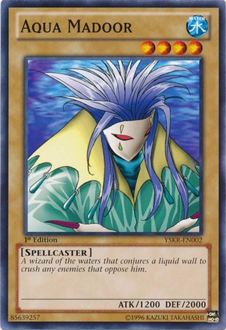 YuGiOh Trading Card Game Starter Deck: Kaiba Reloaded Common Aqua Madoor YSKR-EN002