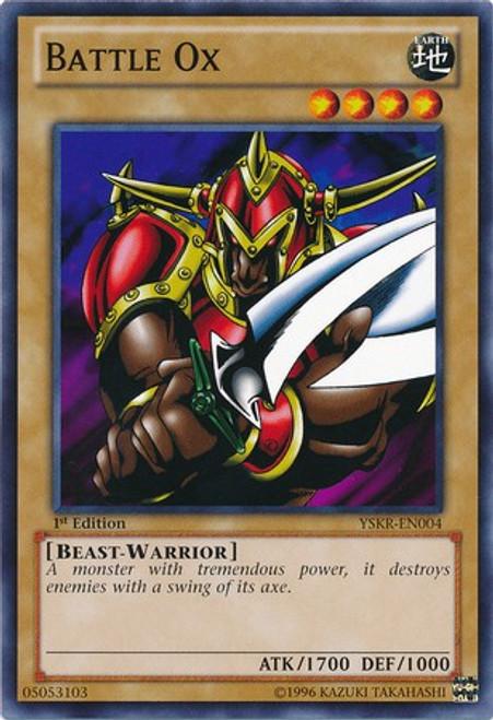 YuGiOh Trading Card Game Starter Deck: Kaiba Reloaded Common Battle Ox YSKR-EN004