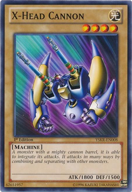 YuGiOh Trading Card Game Starter Deck: Kaiba Reloaded Common X-Head Cannon YSKR-EN008