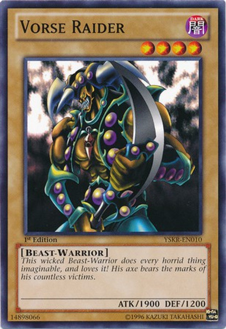 YuGiOh Trading Card Game Starter Deck: Kaiba Reloaded Common Vorse Raider YSKR-EN010