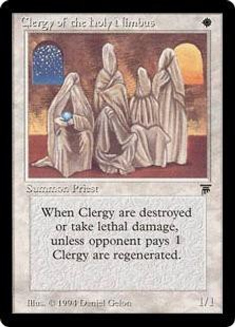 MtG Legends Common Clergy of the Holy Nimbus