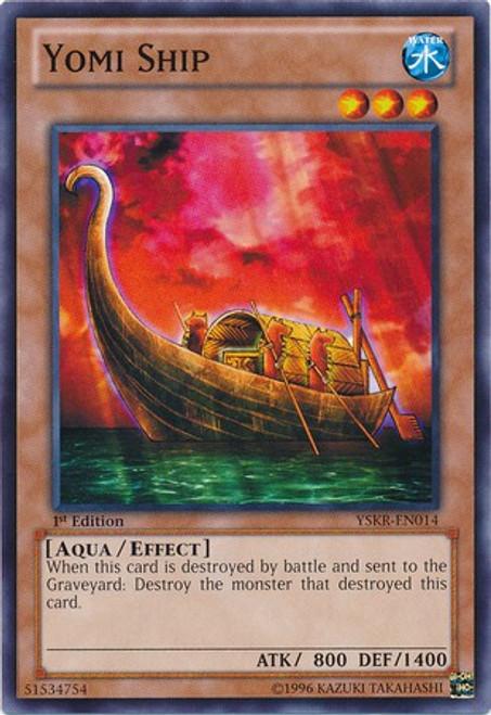 YuGiOh Trading Card Game Starter Deck: Kaiba Reloaded Common Yomi Ship YSKR-EN014