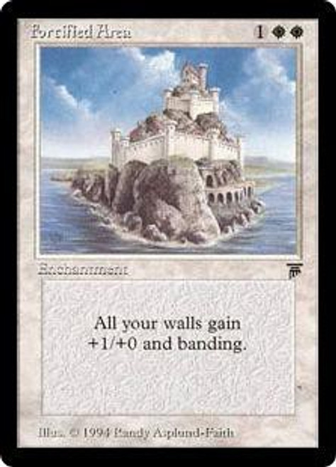 MtG Legends Uncommon Fortified Area