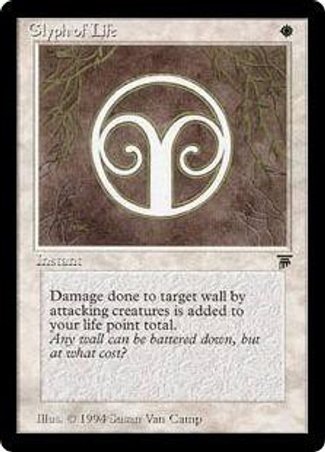 MtG Legends Common Glyph of Life