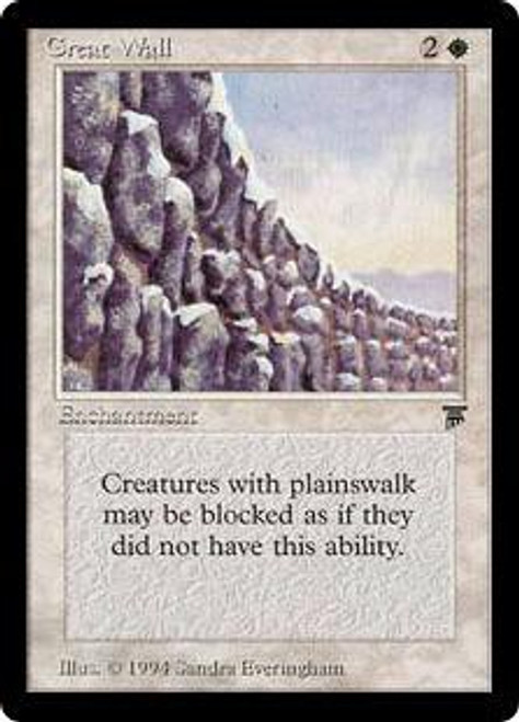 MtG Legends Uncommon Great Wall