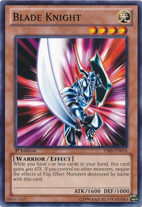 YuGiOh Trading Card Game Starter Deck: Kaiba Reloaded Common Blade Knight YSKR-EN018