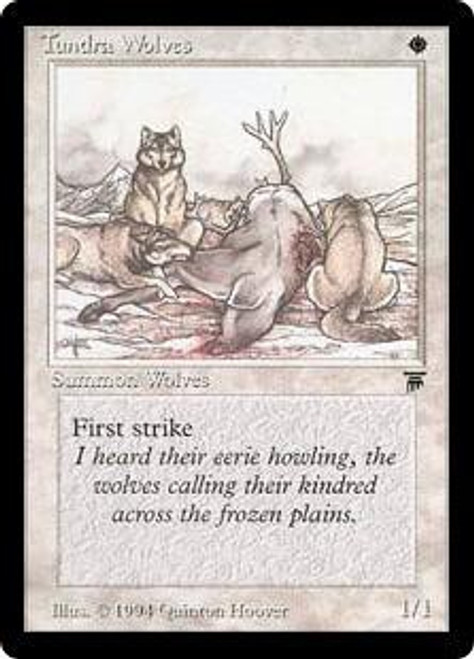 MtG Legends Common Tundra Wolves