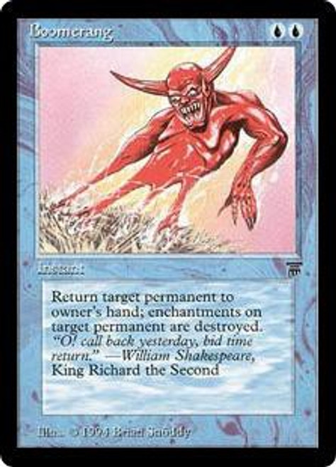 MtG Legends Common Boomerang