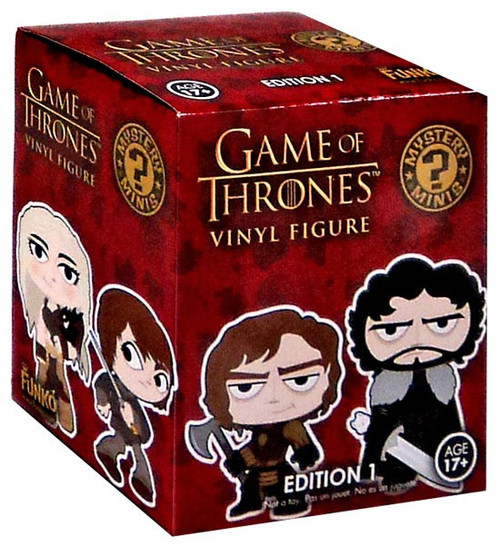 Funko Mystery Minis Game of Thrones Series 1 Mystery Pack [1 RANDOM Figure]