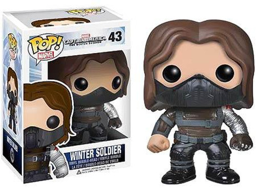 Funko Captain America: The Winter Soldier POP! Marvel Winter Soldier Vinyl Bobble Head #43 [No Mask]