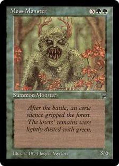MtG Legends Common Moss Monster