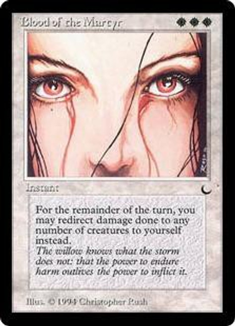 MtG The Dark Uncommon Blood of the Martyr