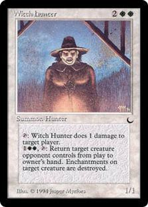 MtG The Dark Rare Witch Hunter