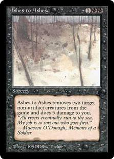 MtG The Dark Common Ashes to Ashes