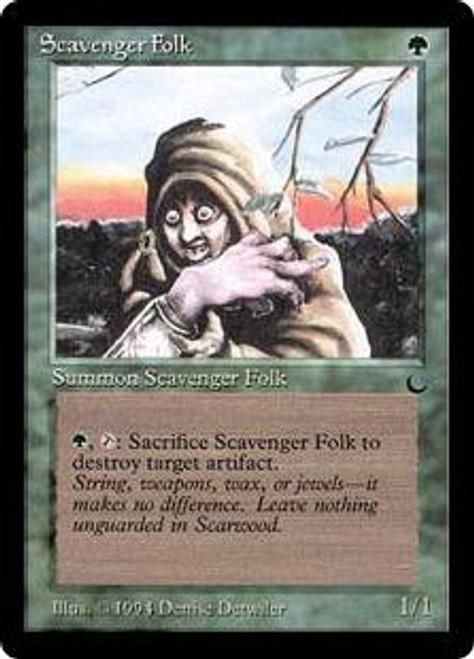MtG The Dark Common Scavenger Folk