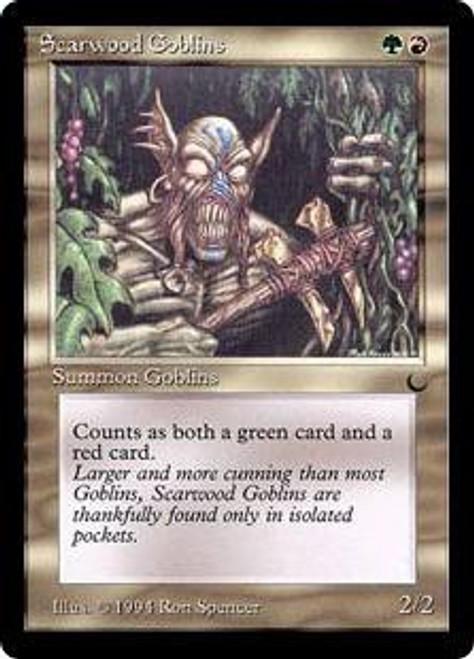 MtG The Dark Common Scarwood Goblins
