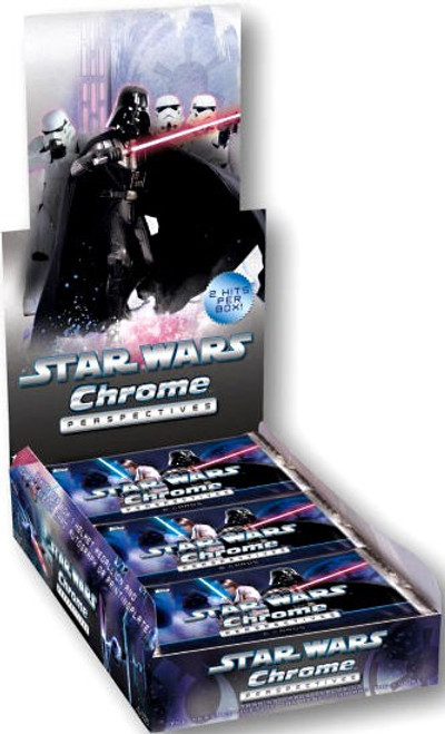 Topps Star Wars Chrome Perspectives Trading Card Box