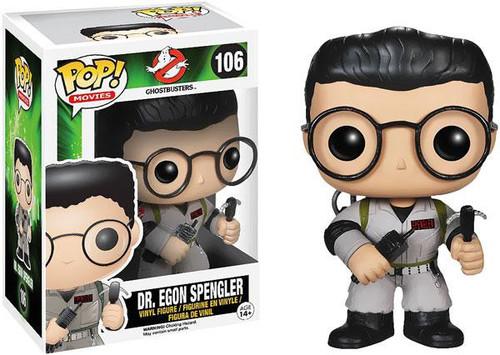 Funko Ghostbusters POP! Movies Dr. Egon Spengler Vinyl Figure #106