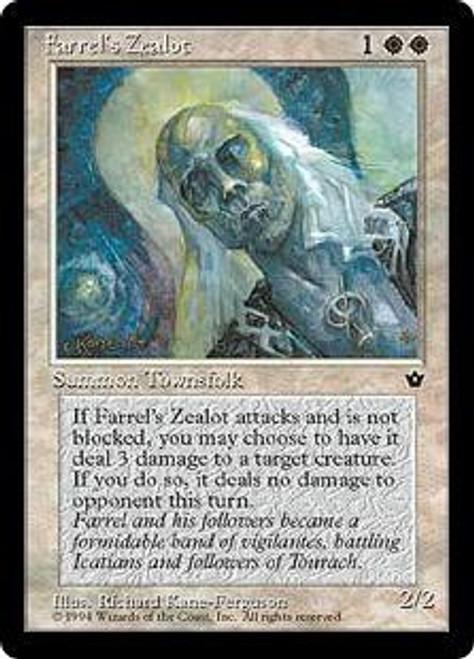 MtG Fallen Empires Common Farrel's Zealot [RANDOM Artwork]