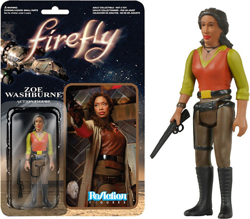 Funko Firefly ReAction Zoe Washburne Action Figure