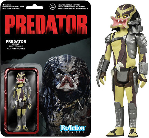 Funko ReAction Predator Action Figure