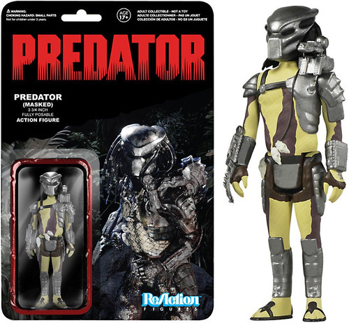 Funko ReAction Predator (Masked) Action Figure