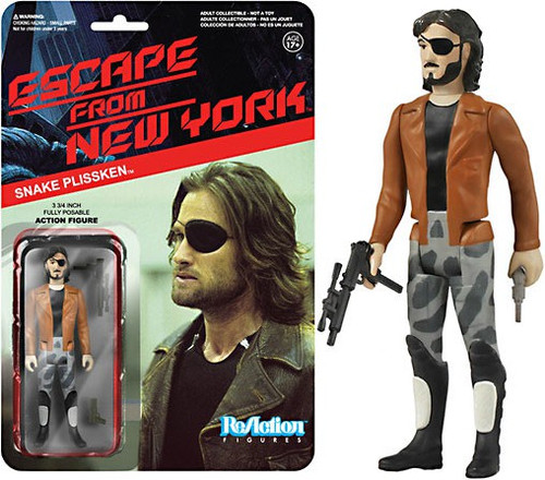 Funko Escape From New York ReAction Snake Plissken Action Figure [Jacket]